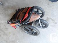 This 6 year old stroller is in excellent condition.
