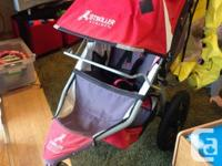 Red Bob Revolution Stroller in excellent condition for
