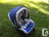 Bob Stroller in good condition with peg-perego 30-30