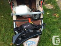 Selling our beloved BOB stroller, purchased in 2011.