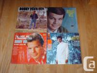 Bobby Vee Albums (4). Prices are firm. Pick up only.