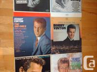 Bobby Vinton Albums. Prices are firm. Pick up only.
