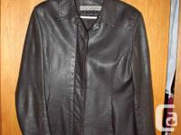 Mink brown jacket with hidden buttons. Sleeves for sale  British Columbia
