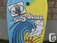Brand-new, never used Physical body Glove bodyboard.