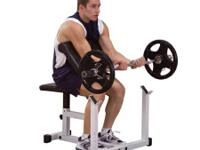 For sale is a Body Solid Powerline Preacher Curl Bench,