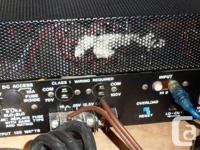 Bogen 125C Mono Amplifier. 125 Watts, 16 ohms. Located