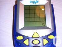 Product Description HASBRO BOGGLE ELECTRONIC HANDHELD