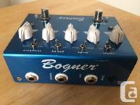 "Captures the ""blue channel"" tone of the Bogner amp."