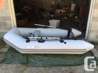 - 9ft Bombard Inflatable Zodiac -Comes with Endurance for sale  British Columbia