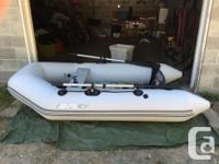 - 9ft Bombard Inflatable Zodiac -Comes with Endurance, used for sale  British Columbia
