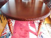 BOMBAY BUSINESS - Oval Dining Space Table (Expanding).