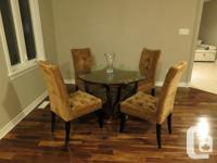 $850 Selling my Bombay Dining Table set which includes