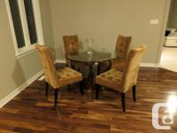 $850 Selling the Bombay Dining Table set which includes