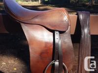 I have a Bona Allen saddle for sale. It is a 17 inch