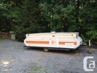 1981 Bonair hard-top camper in good condition. 12 foot