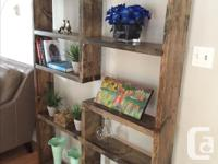 This gorgeous book shelf is the perfect addition to a