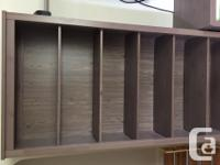 Full TV wall unit: two bookcases, tv stand with