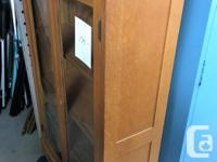 Bookcase with Glass Doors $175.00 If you're interested