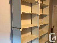 Custom made bookcase that has seen better days. Could
