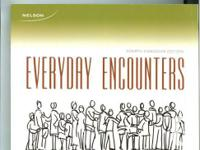 Everyday Encounters - 4th Canadian Edition  almost new