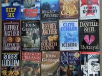 Books for sale - mix of types: Suspense, Thriller,
