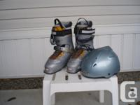 Female's Salomon Knowledgeable boots, grey in shade,