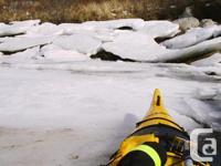 Canadian made composite plastic, 17' Muktuk Sea Kayak