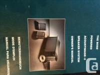Fantastic sound BOSE Acoustimass-3 speaker system