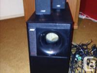 Acoustimass 5 Series III Excellent condition. Used for