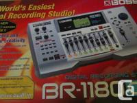 Like New Boss Br1180CD 10 Track Digital Recording