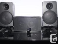 BOSTON ACOUSTICS SPEAKER SYSTEM -ACTIVE SUB-WOOFER