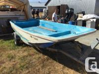 Boston Whaler 13 feet, bare hull, last owner painted it