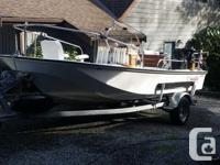 I have reluctantly decided to sell my Boston Whaler.