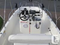 2013 BOSTON WHALER DAUNTLESS 170 Comes powered by a