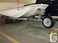 13' Boston Whaler Sporting event. Side console