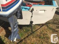 Boston Whaler 13.5 Has 20 electric start and 5 hp Honda