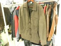 Medium size fine leather jacket. Bostonian brand. Price