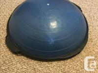 Selling a Bosu Ball in excellent condition - used