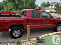 Make Dodge Model Dakota Year 2008 Colour red kms