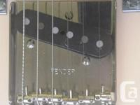 2007 Fender body in Honey blond laquour. Flame maple