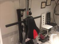 Selling our extreme SE 2 home gym Reason for sale: