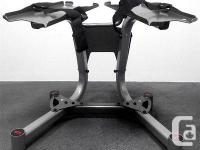 Stand for innovative Bowflex pick technology 552 and
