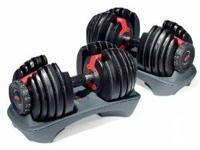 A fantastic set of exercise equipment available for