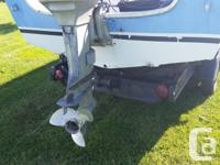 I have a 17' crestliner tri hull bow rider with 50 hp
