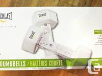 ALL NEW, NEVER USED EVERLAST 2 pound DUMBBELL WEIGHTS