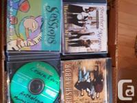 over 100 cd's per box Christian, easy listening, jazz