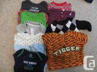 Baby boy 9-12month winter/spring clothes. No pets, no