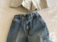 3 Overalls (shorts) 1 One Piece Short outfit 4 Pairs of