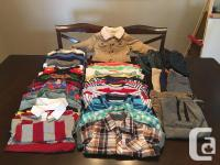 Assortment of boys 3T clothing in great condition
