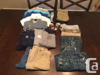 Assortment of boys 9-18 months clothing in great